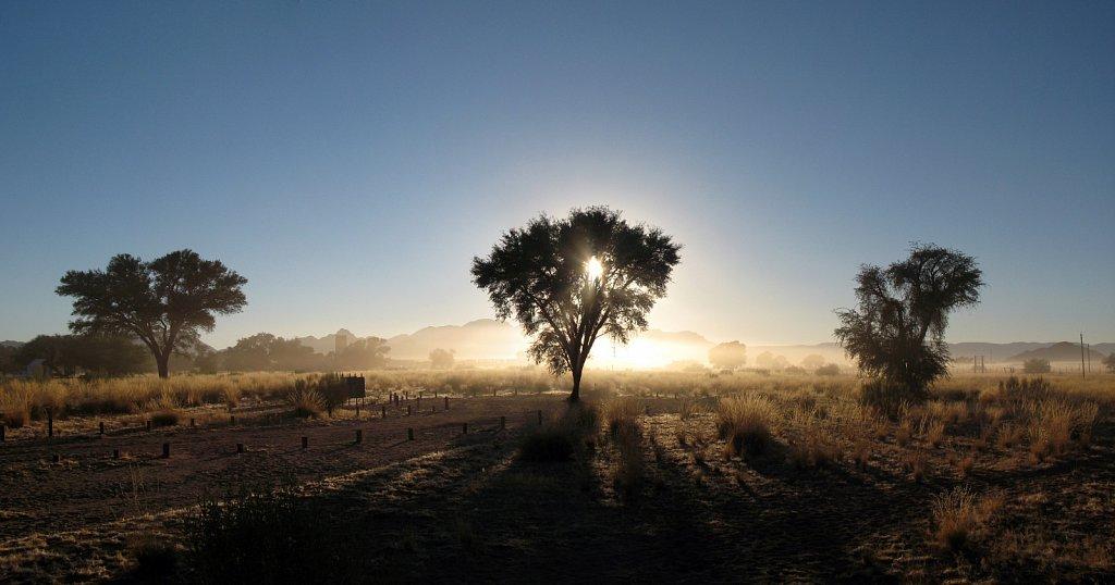 Réveil en Namibie