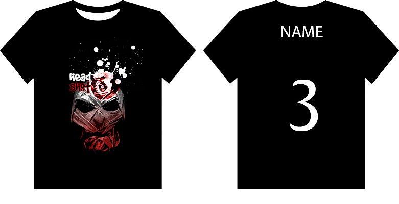 T-Shirt Unihockey Team Headshot