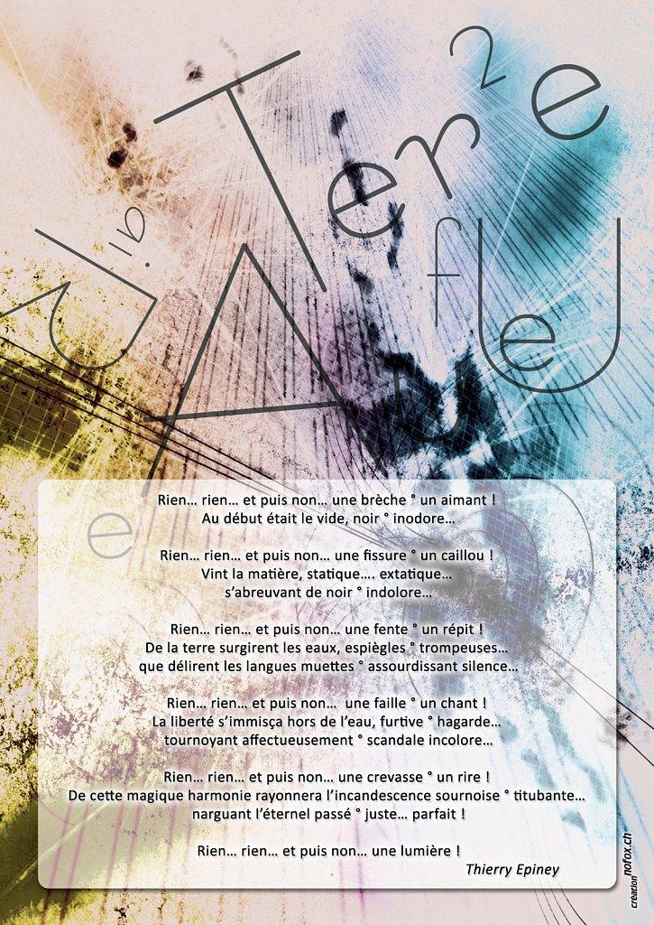 Flyer Les 4 Elements (recto)