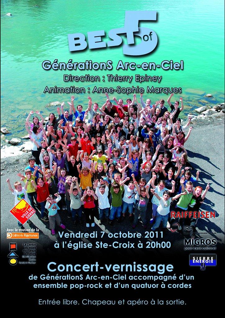 Flyer Concert Best of 5 (recto)