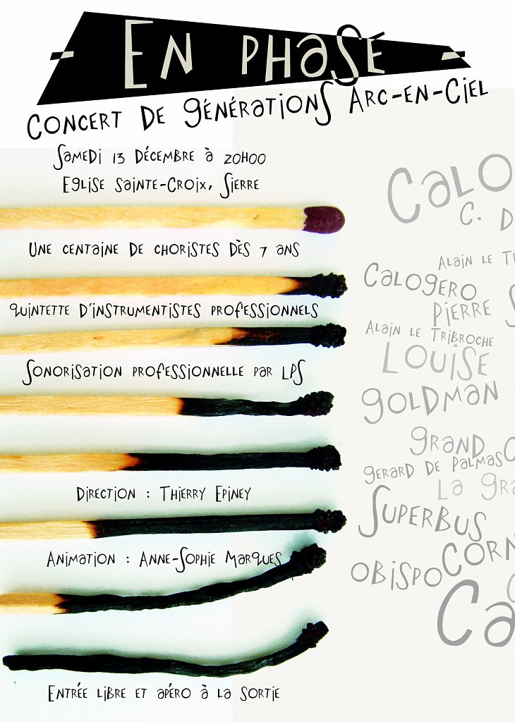 Flyer Concert En Phase (recto)