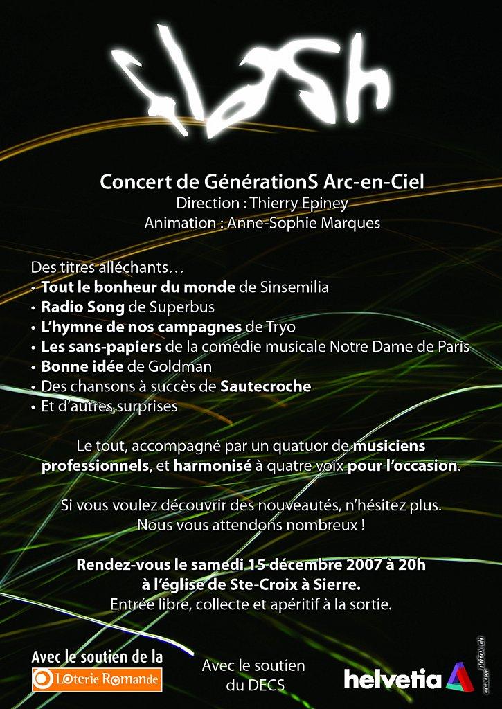 Flyer Concert Flash