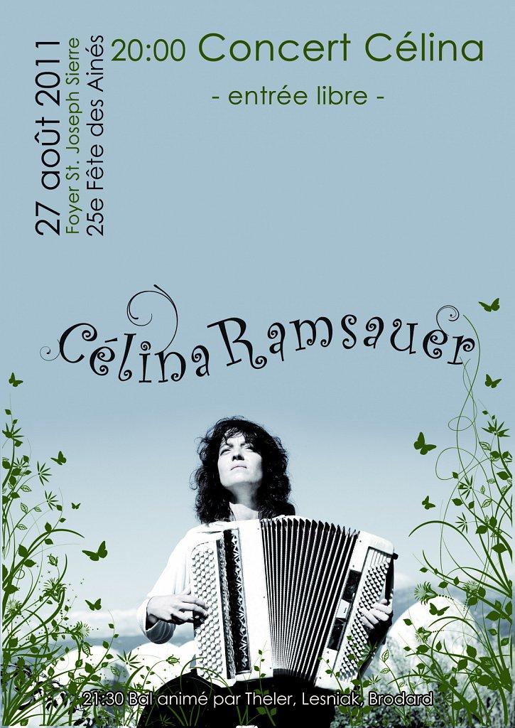 Flyer Concert Céline Ramsauer