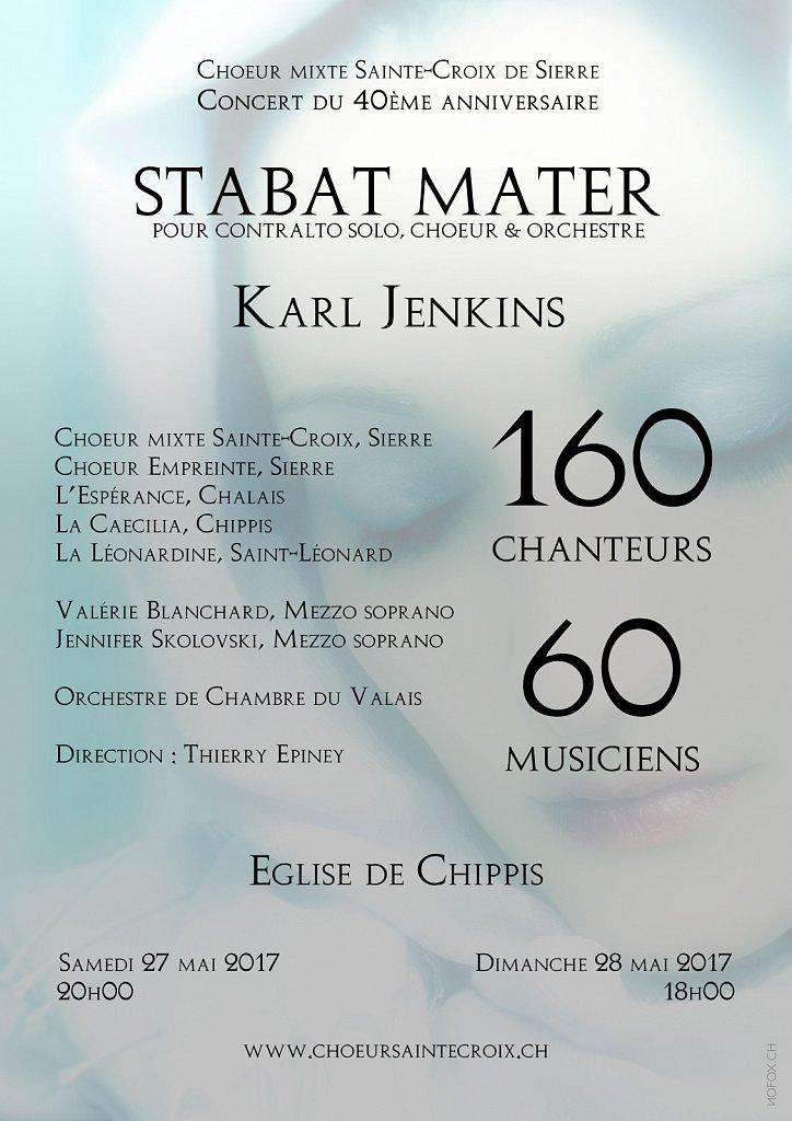 Flyer Concert Stabat Mater